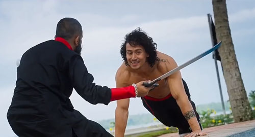 Ronny in Baaghi film