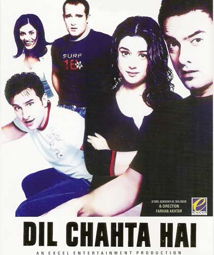 Dil Chahta Hai movie 2001 poster