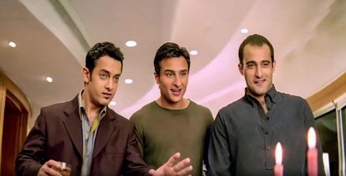 Dil Chahta Hai trio