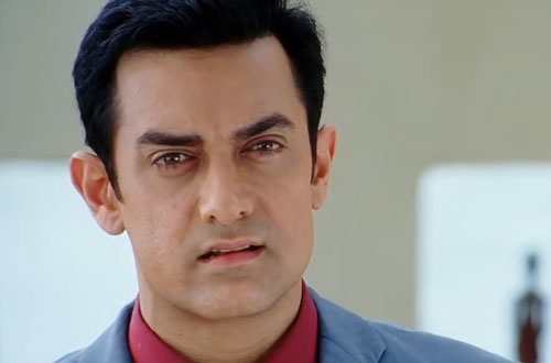 Aamir Khan in Ghajini 2008 movie