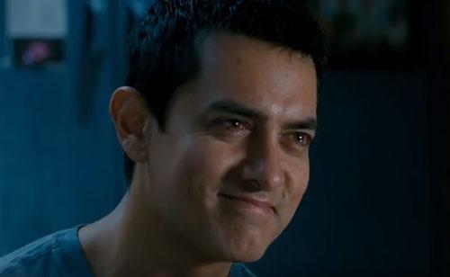 Aamir Khan in 3 Idiots movie