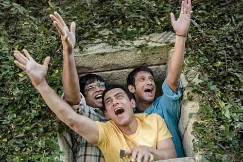 main cast of 3 Idiots full movie