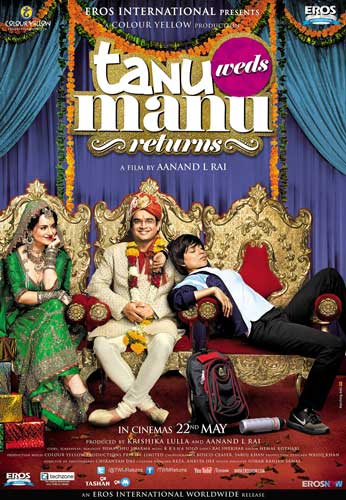 Tanu Weds Manu Returns 2015 poster