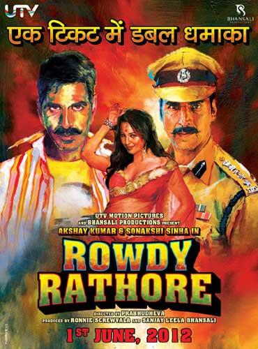Rowdy Rathore 2012 poster