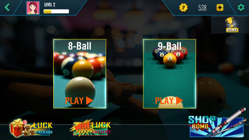 pool ball online mode