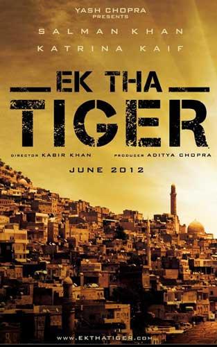 Ek Tha Tiger 2012 poster