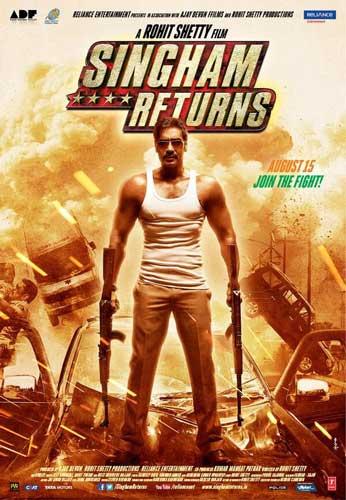 Singham Returns 2014 poster