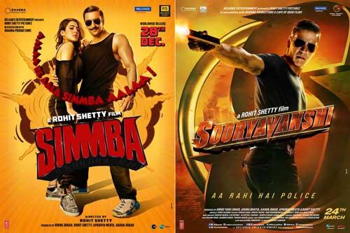 simmba and sooryavanshi poster