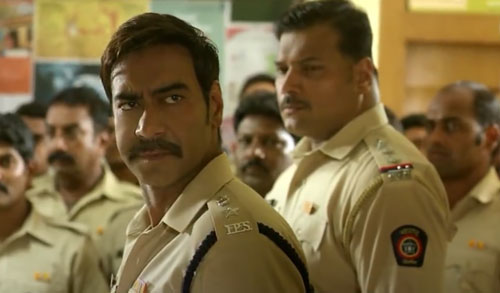 Ajay Devgn in Singham 2