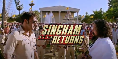 Singham Returns 2014 Hindi movie