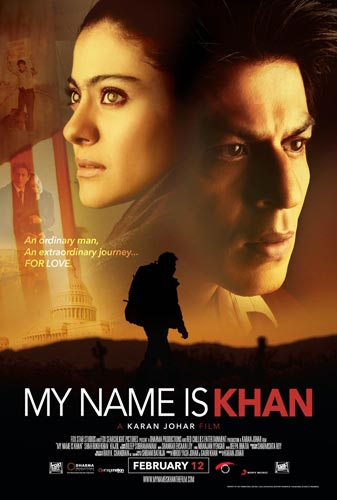 My Name Is Khan 2010 poster