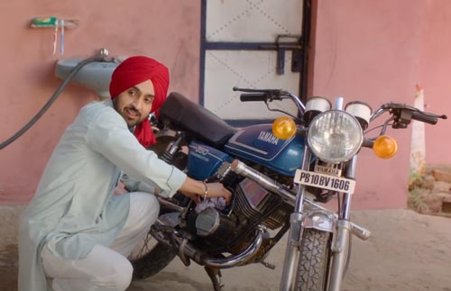 Diljit Dosanjh in Shadaa movie