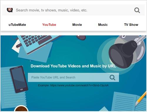 uTubeMate youtube downloader online