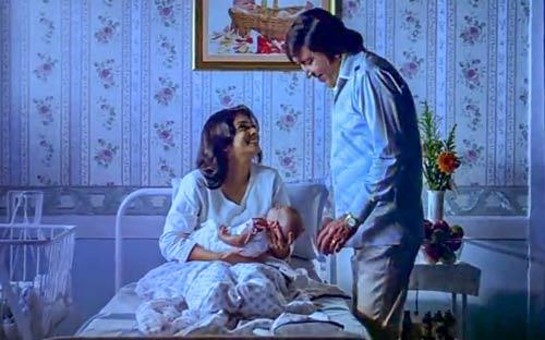 newborn baby Om Shanti Om