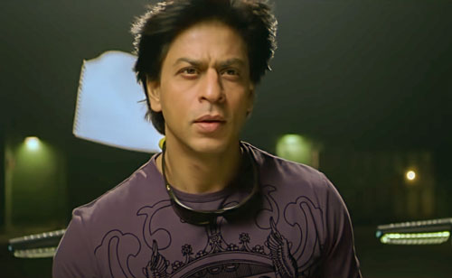 Shah Rukh Khan as OK