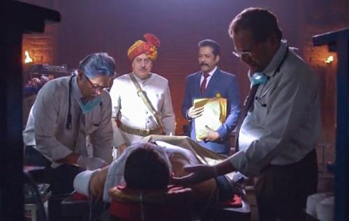 Vijay in coma