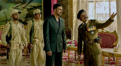 Ranjit and Major Khalaf