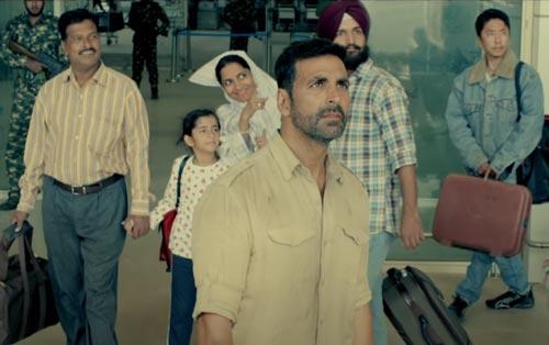 Ranjit in Airlift movie