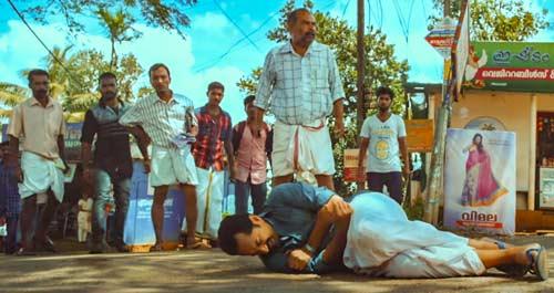 Maheshinte Prathikaram scuffle