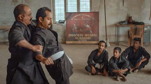 Mahesh learns kung fu