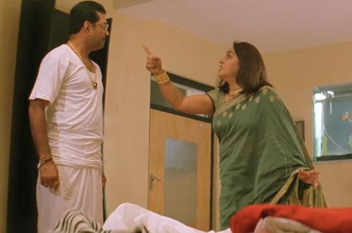 Radheshyam Tiwari and wife