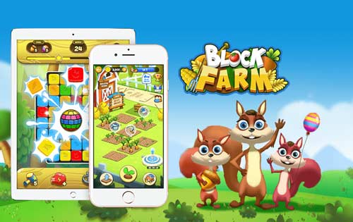 Block Farm Saga: Have Fun in Puzzle Blasting and Farming