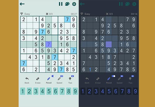 Sudoku JayHole Game Features