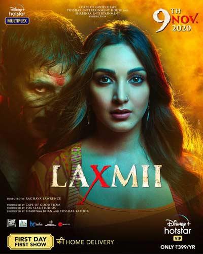 Laxmii movie poster