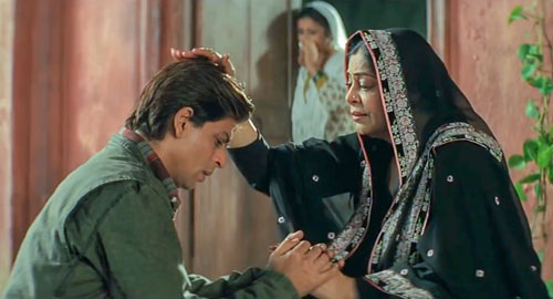 Zaara mother and Veer