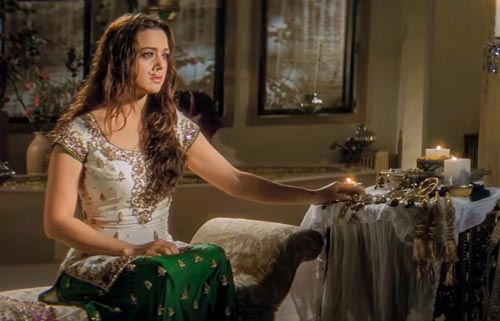 Preity Zinta in Veer Zaara movie