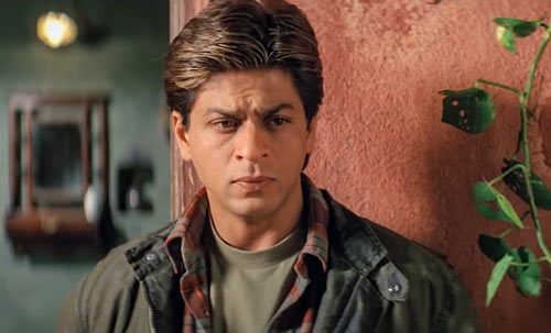 Shah Rukh Khan as Veer