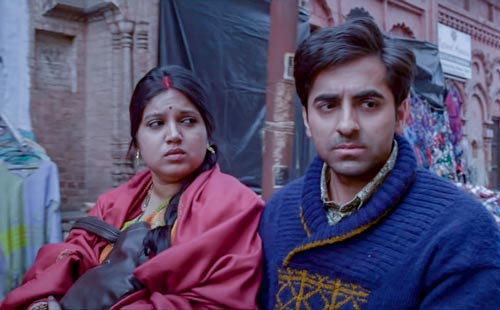 Ayushmann Khurrana in Dum Laga Ke Haisha movie