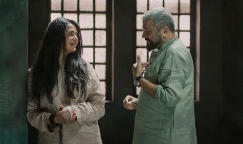 Chanchala and Eashwar Prasad in mental asylum