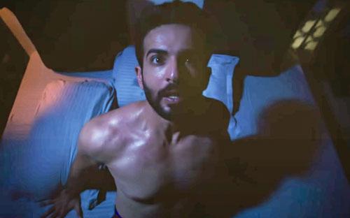 Karan wakes from nightmare