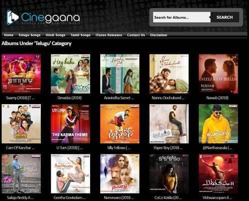Cinegaana-albums-Telugu-songs-download