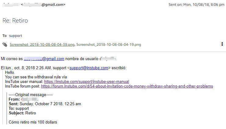 E-mail-record