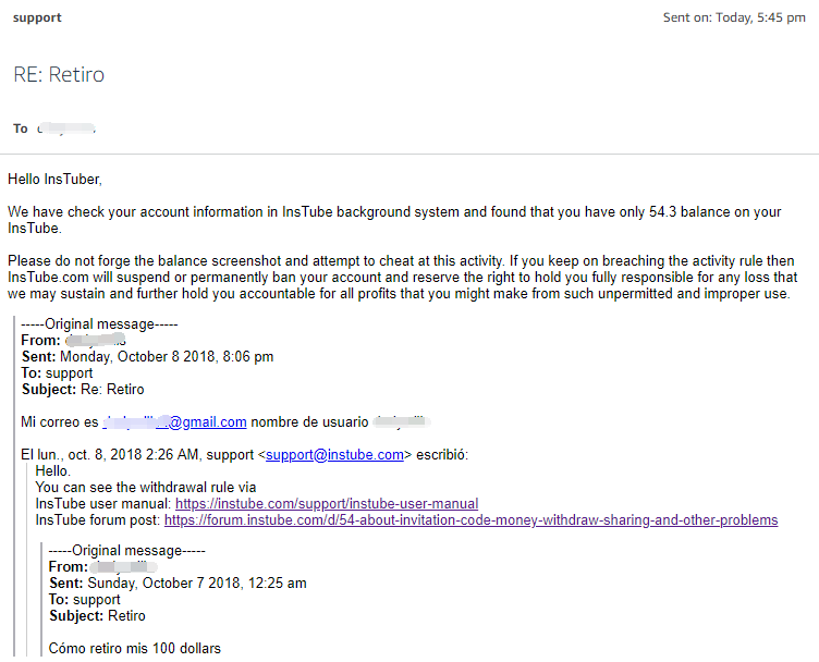 E-mail-reply
